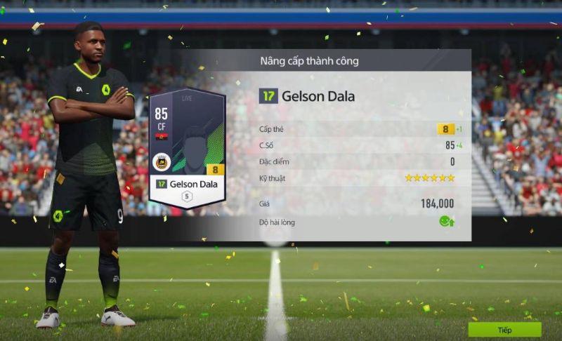 Hướng dẫn cách tăng chỉ số cầu thủ trong fifa online 3 nhanh chón