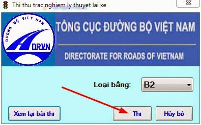 download phần mềm thi sát hạch lái xe hạng b2 5
