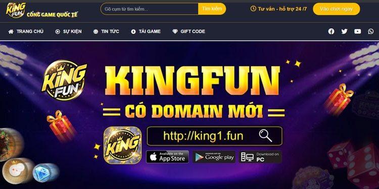 Cổng game quốc tế Kingfun uy tín