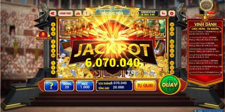 Giá trị giải Jackpot tại Kingfun khá lớn
