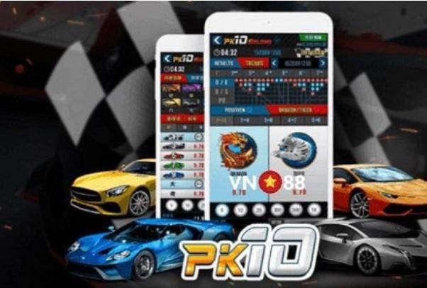 Game cá cược đua xe ảo PK10 VN88 có gì đặc biệt