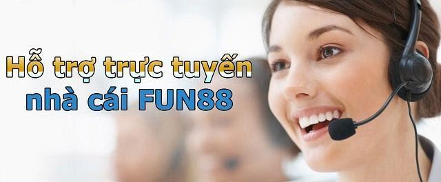 Một số hình thức liên hệ Fun88